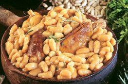 Cassoulet gastronomique au confit de canard