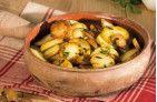 Pommes de terre ? la sarladaise aux c?pes