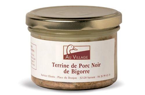 Terrine de porc noir de Bigorre