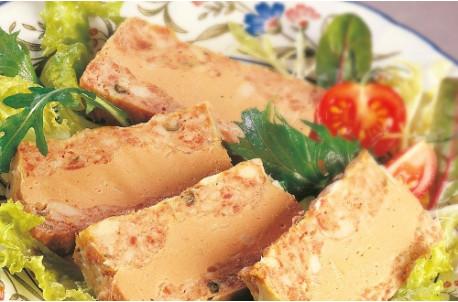 Supr?me au foie de canard et au poivre vert ( 20% de foie gras)