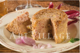 Lot de 2 terrines de canard au vin doux de Gascogne (20% de foie gras)