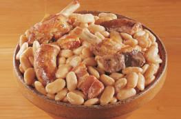 Lot de 2 boites de Cassoulet aux haricots tarbais au manchon de canard confit