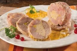 Caille désossée et fourrée au foie de canard (20% de foie gras)