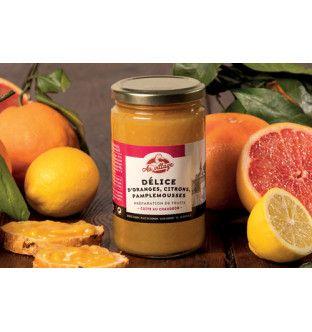 Délice d'oranges, citrons,...
