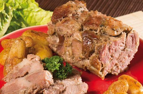 Le r?ti de porc au poivre vert